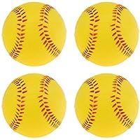 t 12 color amarillo 12 piezas barnett OSL-1 pelota de competici/ón s/ófbol