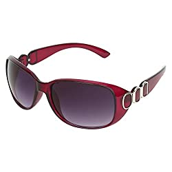 Zyaden Violet Oval sunglasses for women 424