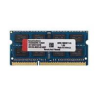 DDR3 DDR3L RAM 4GB Kit SODIMM Laptop Memory (PC3-12800) CL11 1600MHz 204Pin 1. 35V Non-ECC وحدة عصا غير مصقول (أزرق)