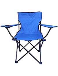 Bestow® Outdoor Portable Folding Chair Camping Hiking Fishing Picnic Chair Set((L X B X H) 12 X 12 X 11.5,Multy)