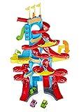 Fisher-Price FXK59 Little People - Pista per Auto con Suoni e 2 Figure di Gioco, dai 18 Mesi in su, Circa Altezza: 93 cm
