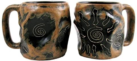 One (1) MARA STONEWARE COLLECTION - 20 Oz. Rock Art Coffee Cup Collectible Dinner Mug - Southwest