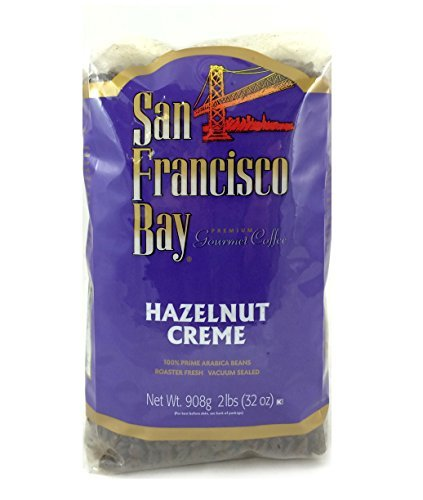 San Francisco Bay Coffee Whole Bean, Hazelnut Cream, 32 Ounce by San Francisco Bay Coffee