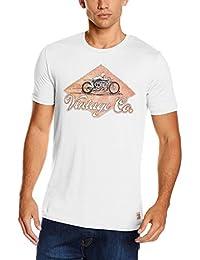 Jack & Jones Vintage Jjvcustom Ss Tee Crew Neck 5, T-Shirt Homme