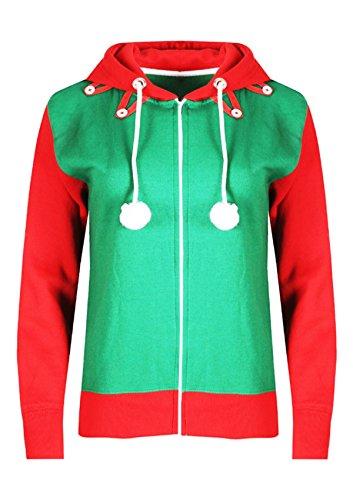 Vanilla Inc Herren Kapuzenpullover, (Christmas Gnome Costume)