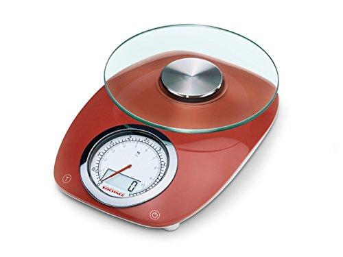 Soehnle Vintage Style. Tipo: Báscula electrónica de cocina, Capacidad máxima de peso: 5 kg, Precisión: 1 g. Tipo de visualizador: LCD. Tipo de batería: AA, Voltaje de la pila: 1,5 V Exhibición -Tipo de visualizador: LCD -Retroiluminación LED: Si  Con...