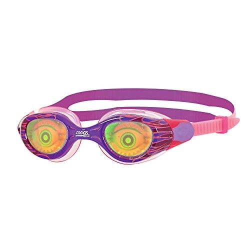 Zoggs Sea Demon Gafas de Natación, Infantil, Morado/Rosa, 6-14 años