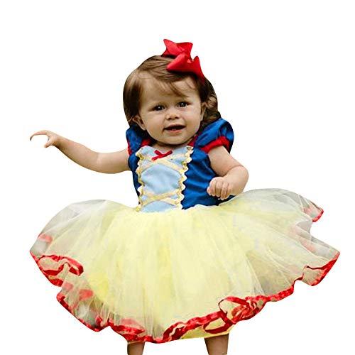 Romantic Prinzessinen Kostüm Mädchen Tutu Kinder Tutu Rock Mädchen Prinzessinen Kleider für Mädchen Halloween Kostüme Tutu Kleid Mädchen Kleid Mädchen Festlich Cosplay Kostüm Verkleiden Kleidung