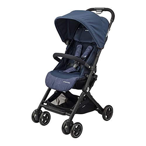Bébé Confort Lara Passeggino Compatto e Leggero, Reclinabile e Richiudibile in 3 Secondi, Nomad Blue