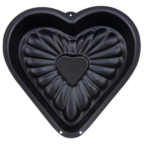Herzform Kuchenbackform Mit Antihaftbeschichtung Zum Einfachen