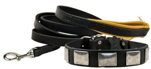 Dean und Tyler Kombination'Tylers Nostalgie' -Halsband, 56cm mit passender 'Leichte Berührung'-...