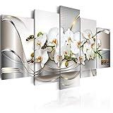 henggfd Moderno Cuadro de Lona-5 Panel - Flor de Orquídea Paisaje Impresión de la Lona Imagen...