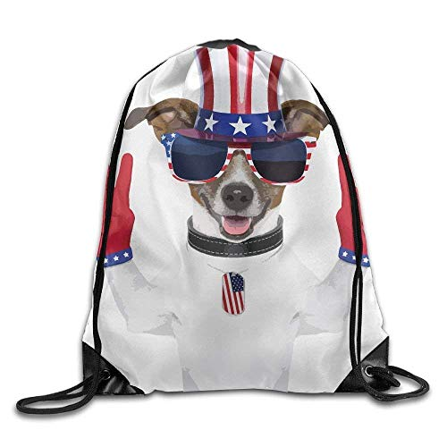 ewtretr Turnbeutel, Red Gloves Sunglasses Hat Cute Gym Drawstring Backpack Unisex Portable Sack Bag