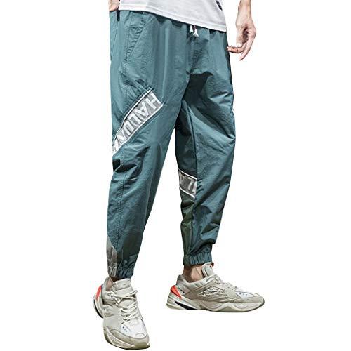 Dwevkeful Herren Relaxed Hose Cargo Pants