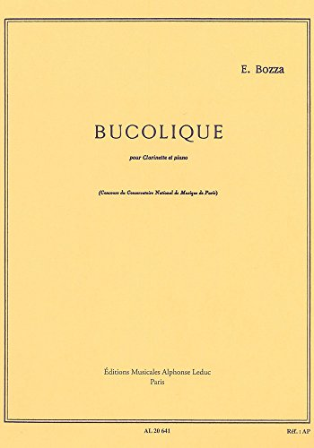 Bucolique pour clarinette et piano