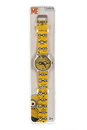 Disney-Orologio Minions analogico, mn014