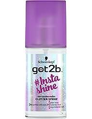 Schwarzkopf Got2b Instashine Glitzer Spray, 3er Pack (3 x 75 ml)