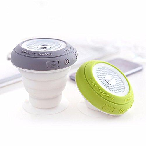 Preisvergleich Produktbild Bazaar Mini Bluetooth Lautsprecher Portable Audio Player bunten LED Licht Mini beweglicher Lautsprecher
