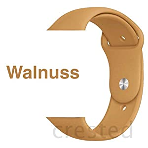 Armband für Apple Watch in Walnuss 42/44mm passend für Apple Watch 1 2 3 4 5