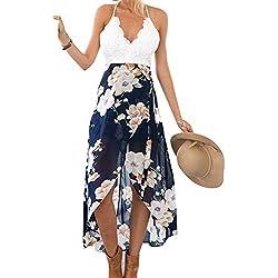 UMIPUBO Trajes de Baño Cubrir Mujer,sin Tirantes Pareos Playa Vestido Mujer Sexy Ropa de Playa de Verano Bikini Cover Up Vestido de Playa Bikini Cubrir