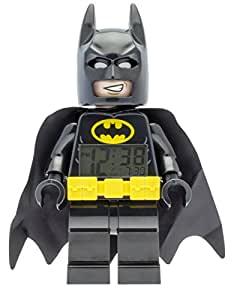 LEGO Batman Movie 9009327 Sveglia per bambini con minifigure Batman