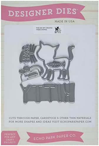Echo Park Park Park Paper Echo Park Dies Kitty, in acrilico | Distinctive  | Alta sicurezza  | tender  a7ef14