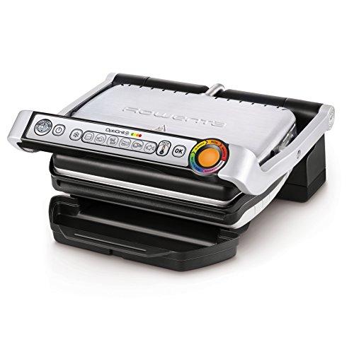 Rowenta GR712D Optigrill+, bistecchiera elettrica da 2000 W con 6 programmi di cottura