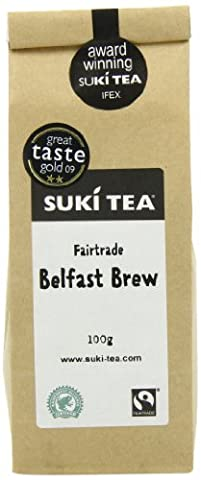 Suki Tea Belfast Brew Loose Black Tea 100 g