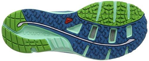 Salomon Damen Sense Mantra 3 Traillaufschuhe Mehrfarbig (Fog Blue/Lucite Green/Tonic Green)