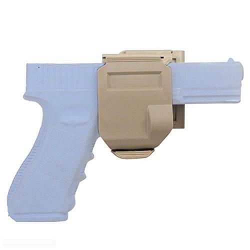 H World EU H Welt EU Taktische MOLLE 360 CP Stil GLOCK Gun Clip Holster Für G17 G19 DE (Glock 19 Holster Clip)