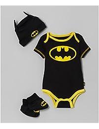 Ensemble 3 pièces déguisement bébé Batman 6/24 mois 6 Mois,12 Mois,18 Mois