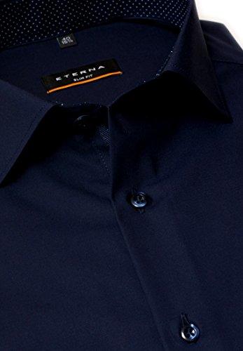 eterna - Camicia classiche - Basic - Classico - Uomo Blau 41 .