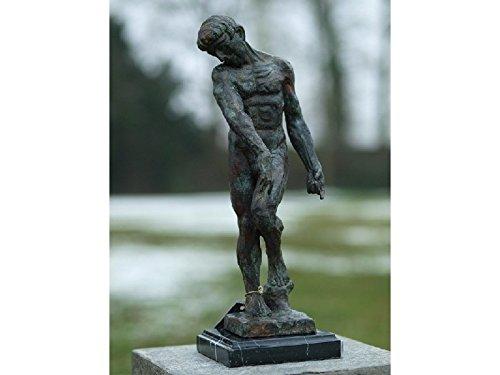 H. Packmor GmbH Bronzeskulptur Mann Adam