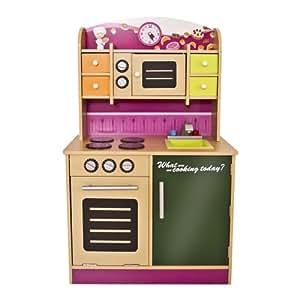 Infantastic® KDK01 Cucina giocattolo per bambini in legno: Amazon.it ...