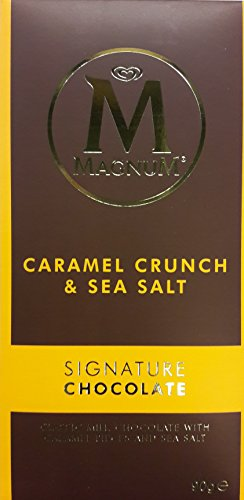 Magnum Signature Chocolate Caramel Crunch & Sea Salt (3 x 90g) -