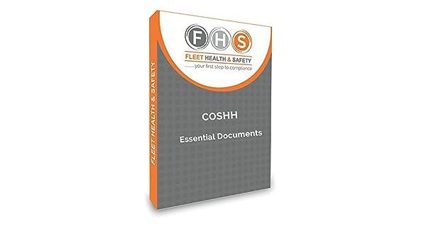 coshh Essential Dokumente Bundle inc Risiko ASS Vorlagen: Amazon.de ...