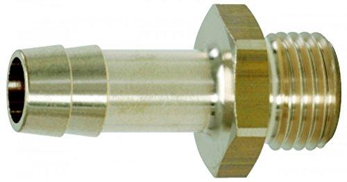 """Preisvergleich Produktbild Gewindetülle mit Aussengewinde,  0-35bar Anschluss G3 / 8"""""""",  9mm,  -20°C bis +100°C"""