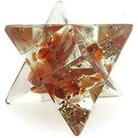 Reiki Energie geladen natürlichen Edelstein Karneol rot Heilstein Chip Energetische markaba Star (23–25mm) preisvergleich bei billige-tabletten.eu