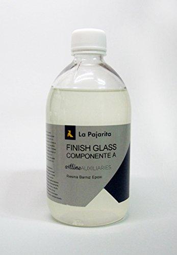 LA PAJARITA FINISH GLASS - COMPONENTE A RESINA BARNIZ