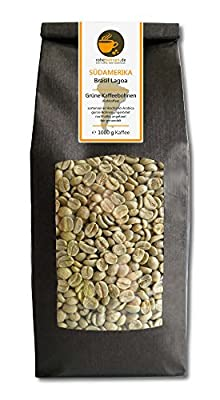 Green coffee beans Brazil Lagoa (raw coffee beans, unroasted) from Rohebohnen