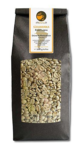 Green Coffee Beans Brazil Lagoa (highland raw coffee beans 1000g) 41iVQnTrBuL
