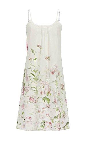 La plus belle Damen Nachthemd mit Spaghettiträgern Off-White 46 9286015, Off-White, 46