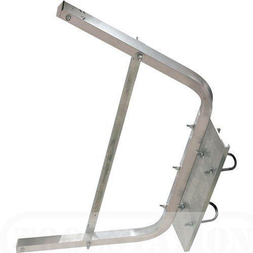 Abru - Soporte de pared para escalera con accesorios de instalación