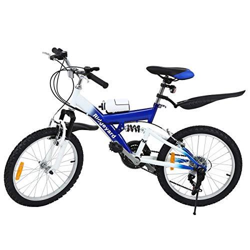 MuGuang Bicicleta Montaña 20 Pulgadas Bicicleta Infantil