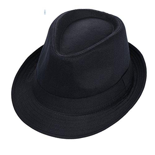 Chapeaux fedora et trilby Visière de Mode/Chapeau de Jazz/Chapeau de scène/Chapeau de Couleur Unie