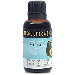 Soulflower Coldpressed Avocado Carrier Oil, 30ml