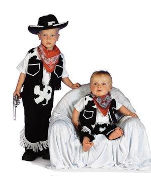 Kostüm Cowboy Kleinkind - Stekarneval Babykostüm Cowboy, Gr. 98