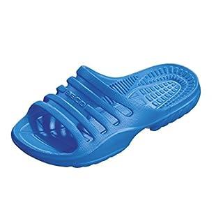 BECO Kinder Badepantolette / Badeschuh / Badelatschen blau 29