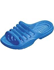 Beco Sport scarpe aquafitn ESS con drenaggio acqua nero, nero (nero), 41 EU