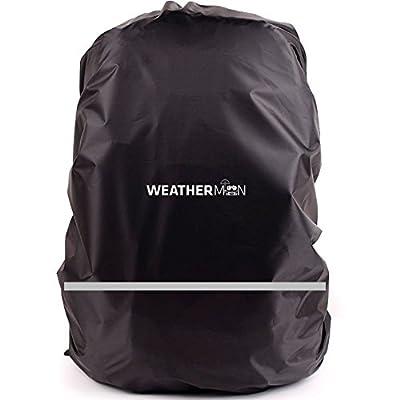 WM WeatherMan Regenschutz wasserdichte Hülle für Foto Rucksack, Backpack, Fahrrad Tasche, Schultasche und Schulranzen mit Reflektor Streifen